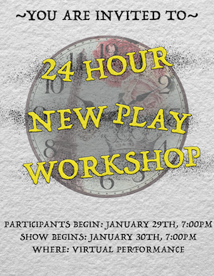 24-hour new play workshop