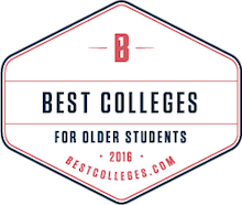 Best Colleges for Adult Students Badge