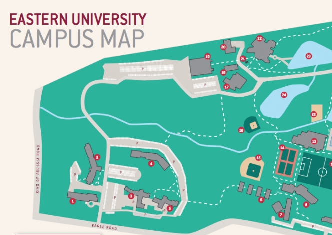 Campus Map Preview
